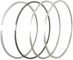 The special-purpose piston rings are mainly applicable to ship master and auxiliary machines